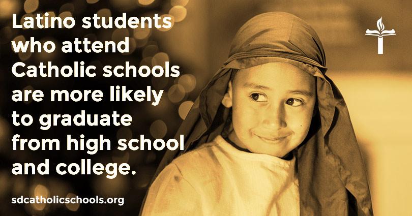 Latino students benefit from Catholic Schools
