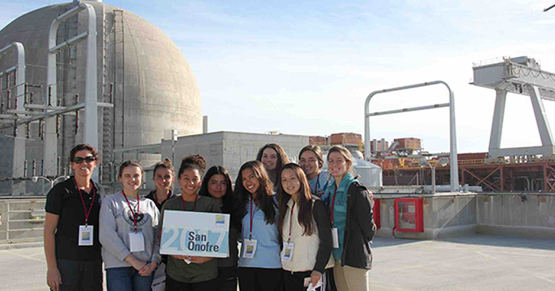 OLP Students Visit San Onofre Nuclear Generating Station