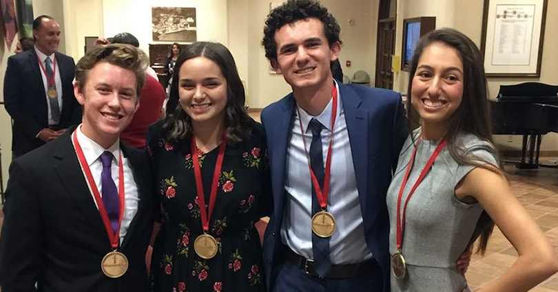 Lily Lucero '18 Recognized as Matthew 25 Honoree