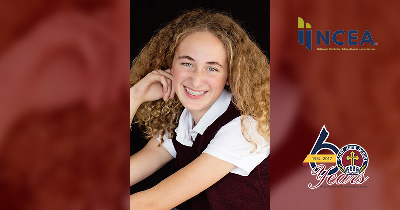 Samantha Armstrong Awarded the National 2018 Youth Virtues, Valor and Vision Award