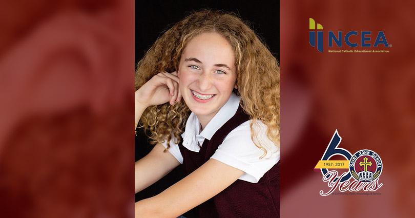 Samantha Armstrong Awarded the National 2018 Youth Virtues, Valor and Vision Award