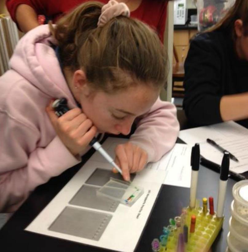 Saint John School Hosts Salk Mobile Lab