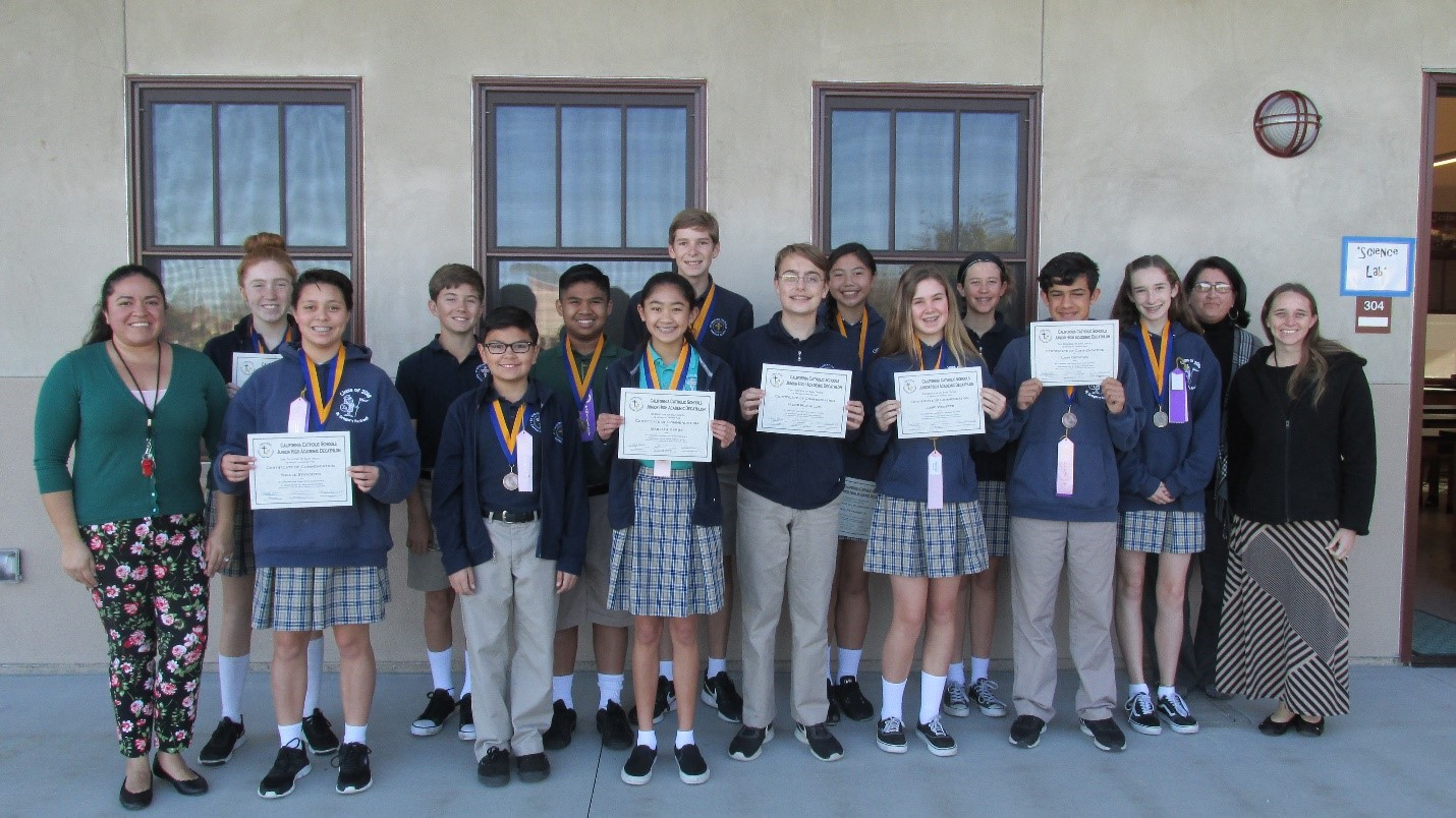 St. Gregory the Great wins 4th in the Academic Decathlon