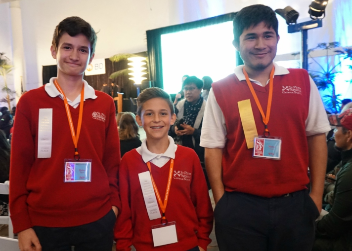 St. Peter Students Advance in the Science & Engineering Fair
