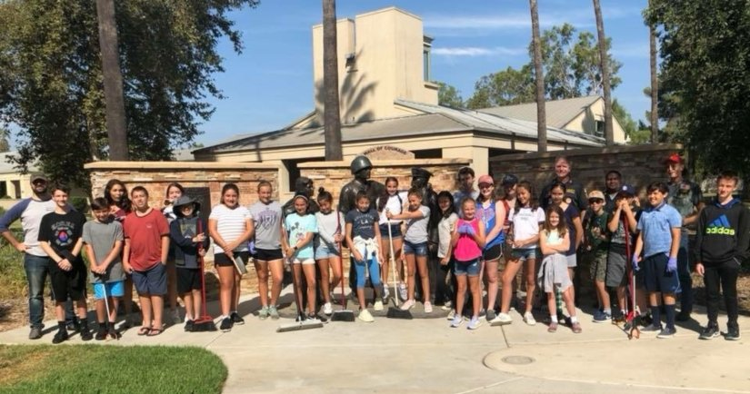 Nazareth School Students Serve the Community