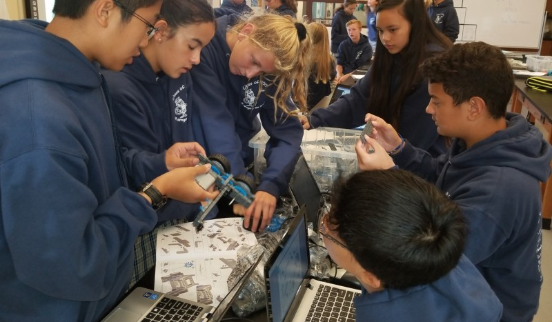 ROCKIN' ROBOTICS AT ST. GREGORY THE GREAT