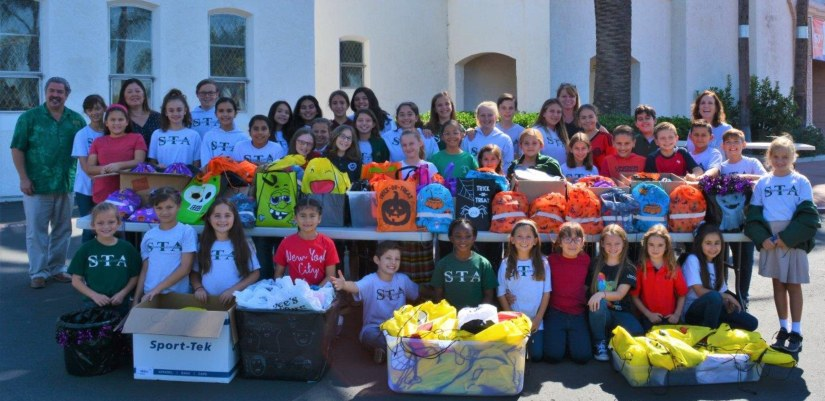 St. Therese Academy K.I.C.S. Club SHINES!