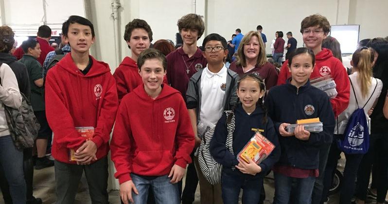 Saint John Students Win Big at STEAM Maker Festival