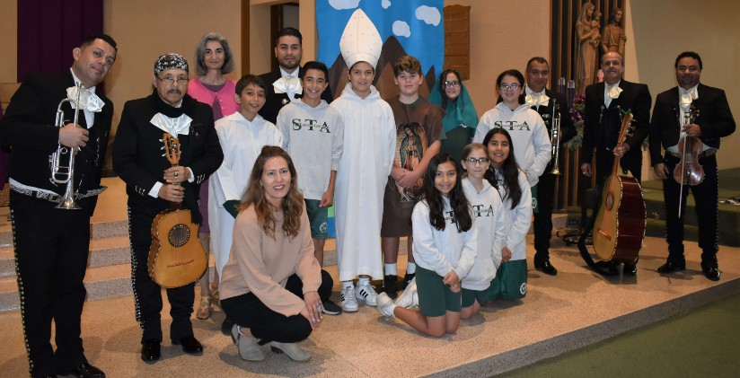 St. Therese Academy Celebrates The Feast of Our Lady of Guadalupe