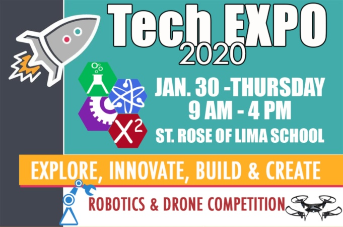 2020 Tech Expo at St. Rose of Lima School