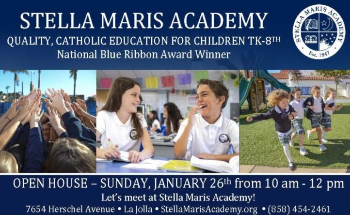 Stella Maris Academy Open House