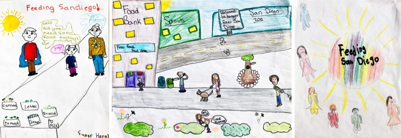 "St. Francis Student is a Winner in the ""Hunger Action Month Art Challenge"""