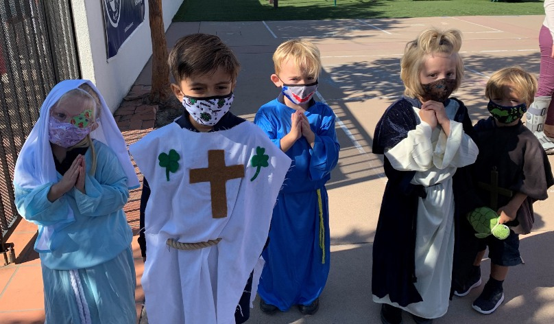 Catholic Schools Celebrate All Saints and Dia de los Muertos