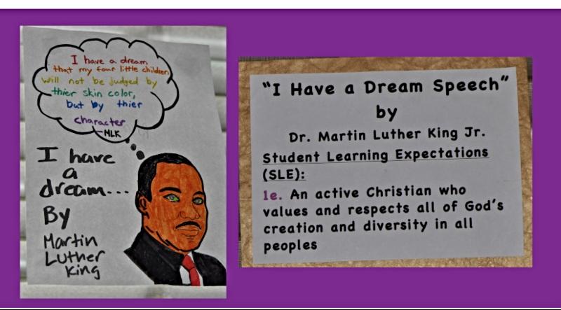 St. Martin of Tours Academy Celebrates MLK Day