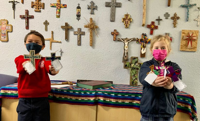 St. Didacus Students Show Their Appreciation