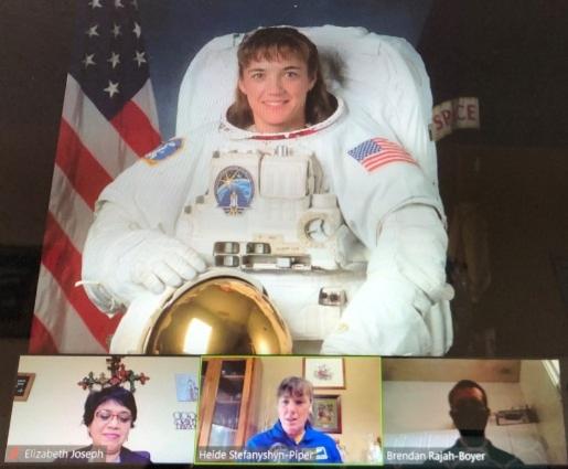 Amazing Woman Astronaut