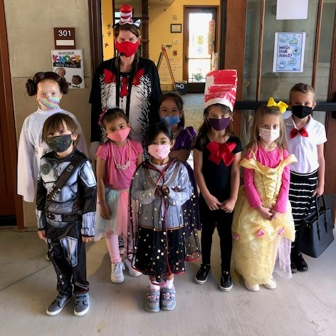 """""""Read Across America"""" Day at St. Gregory the Great School"""