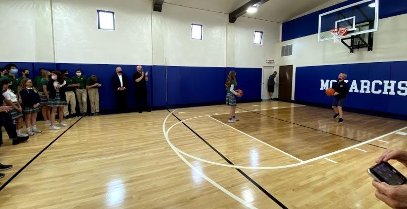 Stella Maris Academy New Home Court!